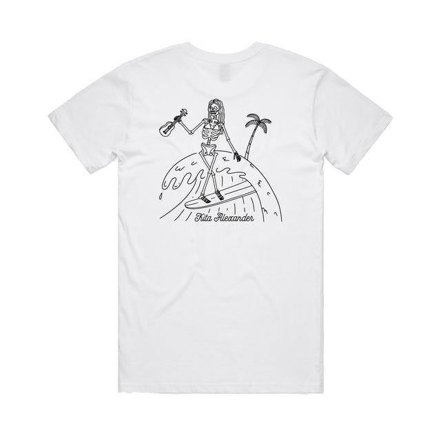 Kita Alexander Surf Tee / White T-Shirt