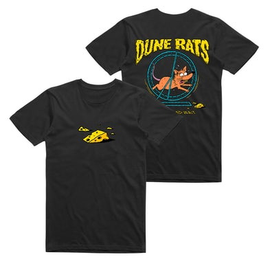 Dune Rats Hurry Up and Wait / Black T-shirt