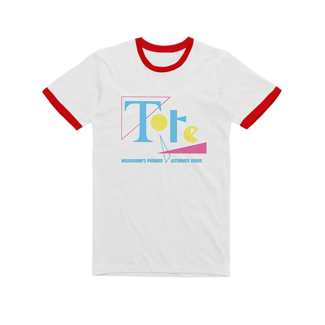 The Tote Hotel 1980's Logo / Ringer T-shirt
