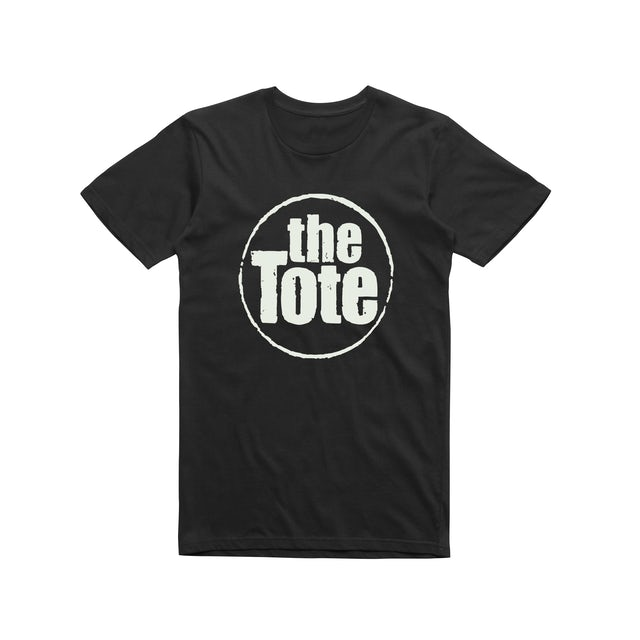 The Tote Hotel Stamp Logo / Black T-shirt