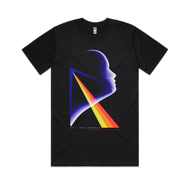 Running Red Lights / Black T-shirt (Zawada x The Avalanches Co-lab)