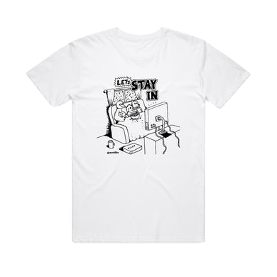 Bjenny Montero Let's Stay In  / White T-shirt