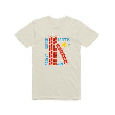 Traffik Island Traffik Jam / Natural T-shirt
