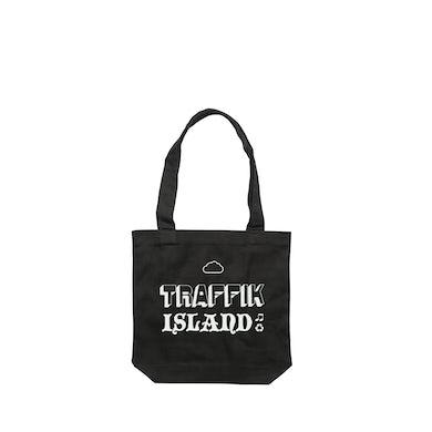 Traffik Island Cloud / Black Tote Bag