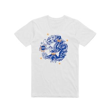 Orb Dragon / White T-shirt