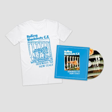 Rolling Blackouts Coastal Fever Sideways to New Italy / CD + Tee