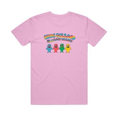 King Gizzard & The Lizard Wizard Fish Family / Lilac T-shirt