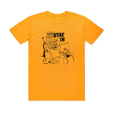 Bjenny Montero Let's Stay In  / Gold T-shirt