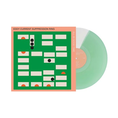 """Eddy Current Suppression Ring / All In Good Time 12"""" Seafoam Vinyl"""