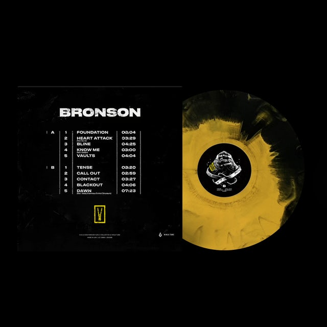 Bundle: BRONSON Artwork T-Shirt + Limited Edition LP