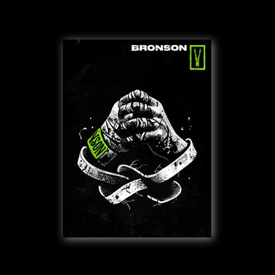 Bronson Wrapped Hands Poster / A2