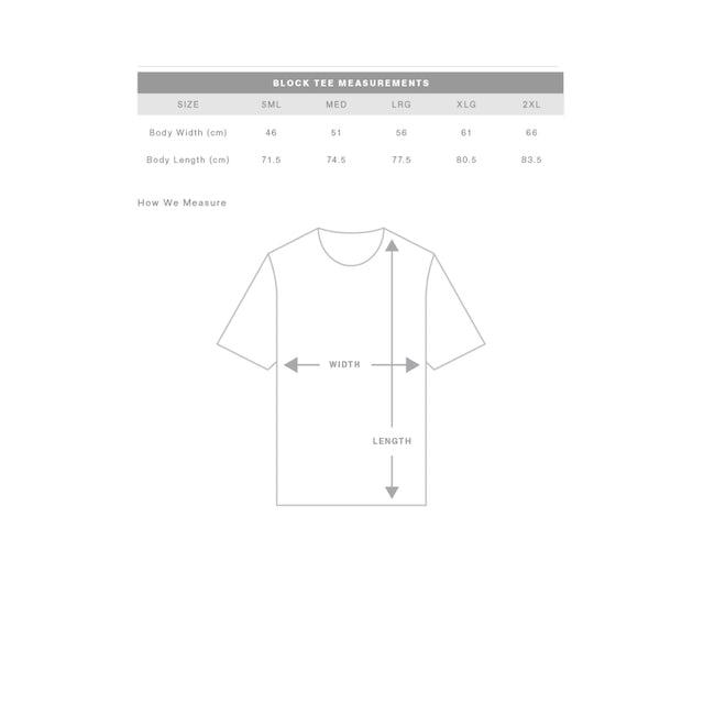 Good Vibes Only Shaka T-Shirt / White