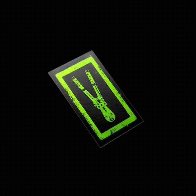 Bronson Bolt Cutter Stickers (4 Pack)