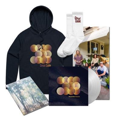 Great Gable Hoodie bundle / Clear Vinyl