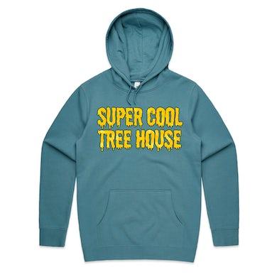 Super Cool Tree House / Slate Blue Hoodie