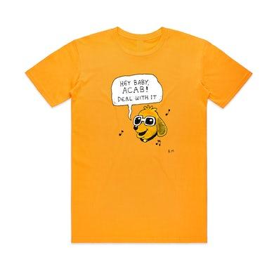 Bjenny Montero Hey Baby, ACAB!  / Gold T-shirt