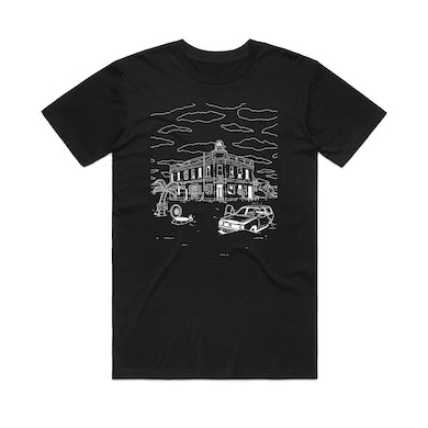 The Tote Hotel Andrew Onorato - Post-Apocalyptic Tote / Black T-shirt
