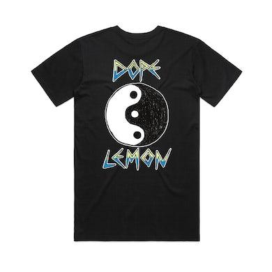 Dope Lemon Ying Yang / Black T-shirt