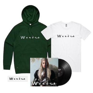 Crystal Ball /  Woodes Hood + T-shirt + Black Vinyl