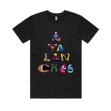 The Avalanches Pyramid / Black T-shirt