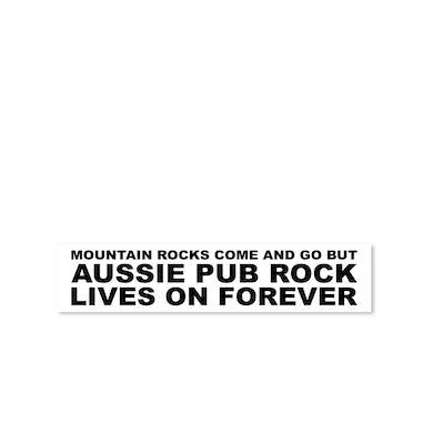 Dune Rats Mountain Rocks Pub Sticker