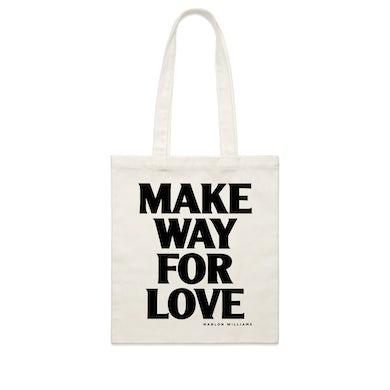 Marlon Williams Make Way For Love / Cream Tote Bag