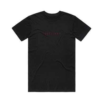 Lastlings / Black T-shirt with Red
