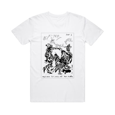Sydney Opera House Gig Reprint / White T-Shirt