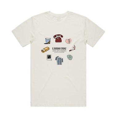 Kita Alexander Miss You / Natural T-Shirt