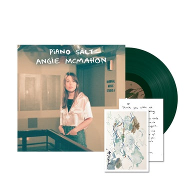 "Angie Mcmahon Piano Salt EP / Green 12"" Vinyl + SIGNED Limited Edition Art Card"