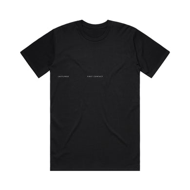 First Contact Des. 2 / Black Tee