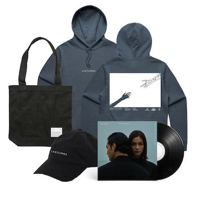 Lastlings / First Contact Hood & Vinyl & Hat & Tote Bundle