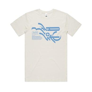 Mildlife Mineral T-shirt / Natural & blue