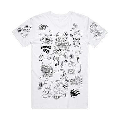 King Gizzard & The Lizard Wizard Demos / White T-shirt + Digital Download