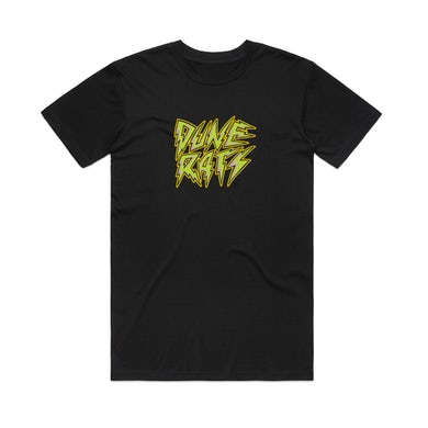 Dune Rats Lightning Logo / Black T-shirt