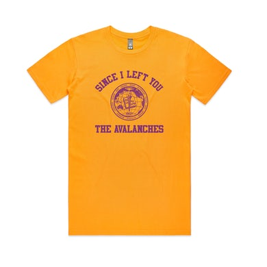 The Avalanches Since I Left You / 20th Anniversary Capsule /  Gold T-shirt