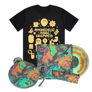 Psychedelic Porn Crumpets Shyga! The Sunlight Mound / Vinyl + T-shirt Bundle