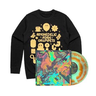 Psychedelic Porn Crumpets Shyga! The Sunlight Mound / Vinyl + Crew Bundle