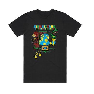 King Gizzard & The Lizard Wizard Bootleg / Black T-shirt + 'K.G.' Digital Download