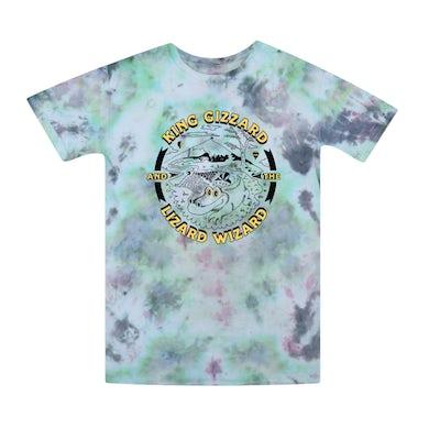 King Gizzard & The Lizard Wizard Gator / Green Tie Dye T-shirt + 'Live In San Francisco '16' Digital Download