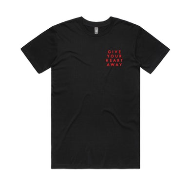 Give Your Heart Away / Black T-shirt