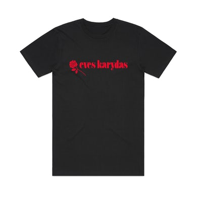 Eves Karydas Rose / Black T-shirt