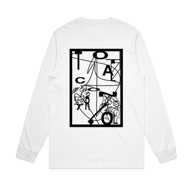Vincent Benefit T / White Long Sleeve ***PRE-ORDER***