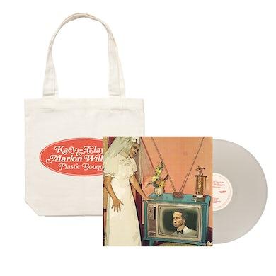 Marlon Williams 'Plastic Bouquet' LP Vinyl (Limited Edition White Vinyl) + Tote Bundle