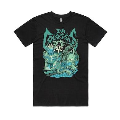 Dr. Colossus Sea Captain Neptune & Kraken Burns / T-shirt (Glenno Design)