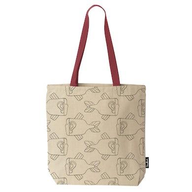 Fishy / Natural Tote Bag