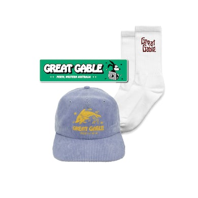 Great Gable Cap, Socks + Sticker Bundle