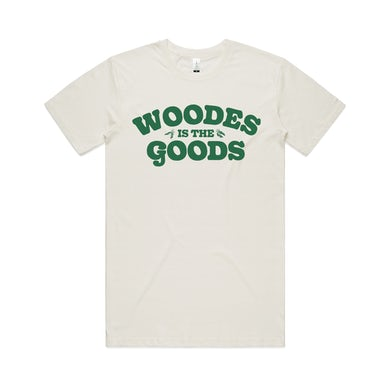 Woodes Is The Goods / Natural T-Shirt