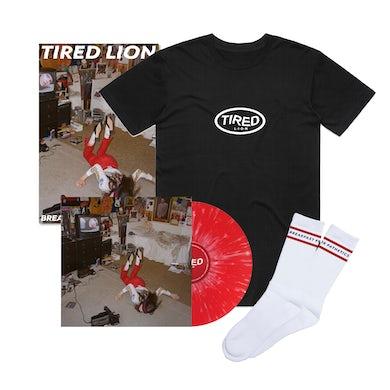 Breakfast For Pathetics / Red Splatter Vinyl Bundle