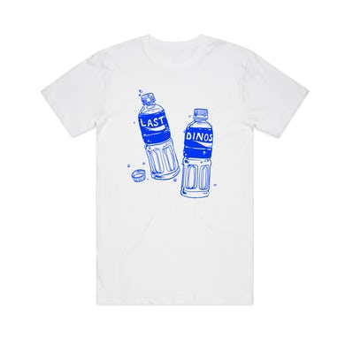 Last Dinosaurs Pocari / White T-Shirt